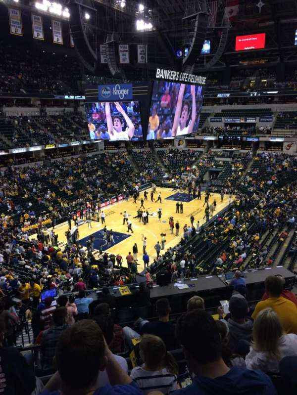 Bankers Life Fieldhouse, section: 19, row: 35, seat: 14