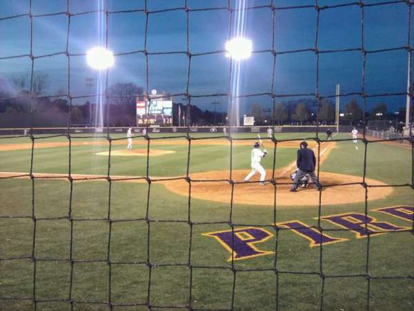 Clark-Leclair Stadium, section: 102, row: 1, seat: 1