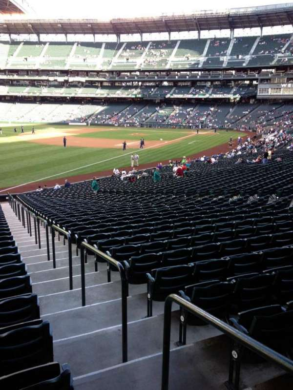 SafeCo Field, section: 147, row: 35, seat: 34