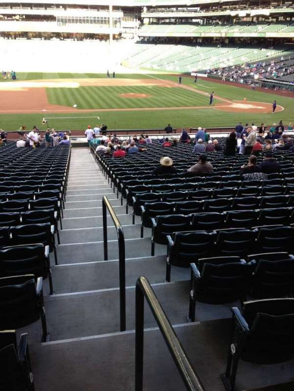 T-Mobile Park, section: 138, row: 35, seat: 34