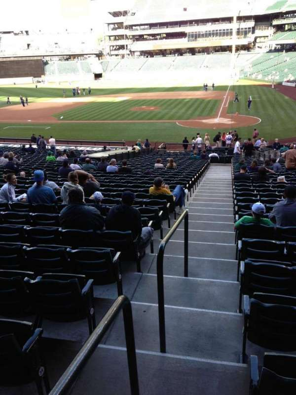 T-Mobile Park, section: 134, row: 35, seat: 34