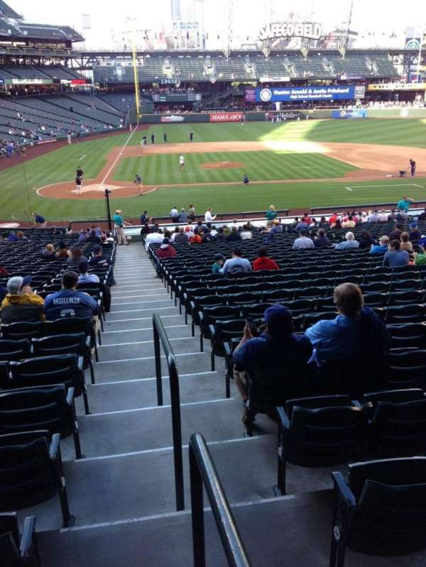 T-Mobile Park, section: 123, row: 35, seat: 34