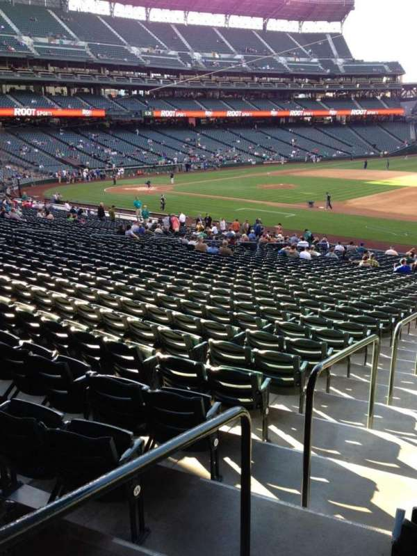 T-Mobile Park, section: 118, row: 35, seat: 34
