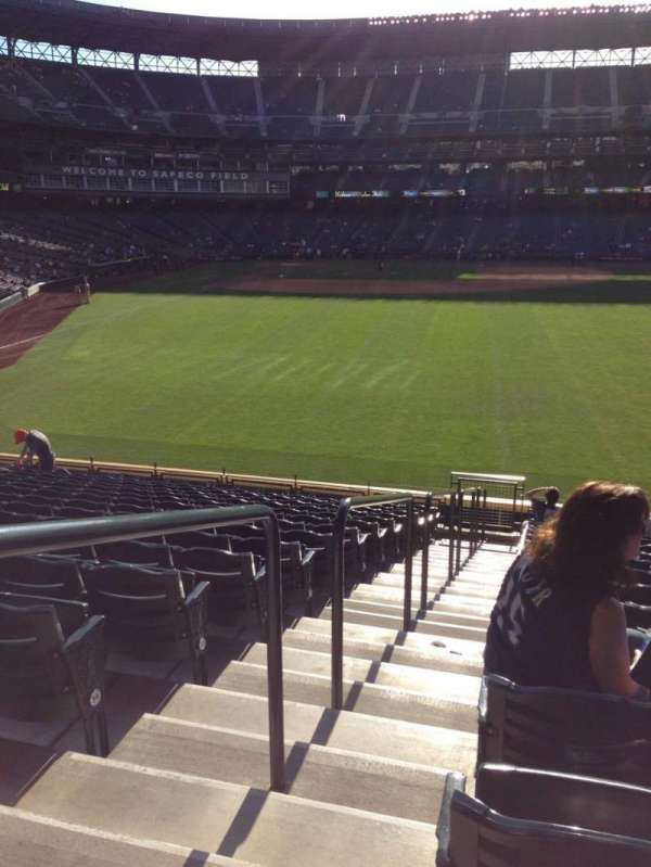 T-Mobile Park, section: 108, seat: 34