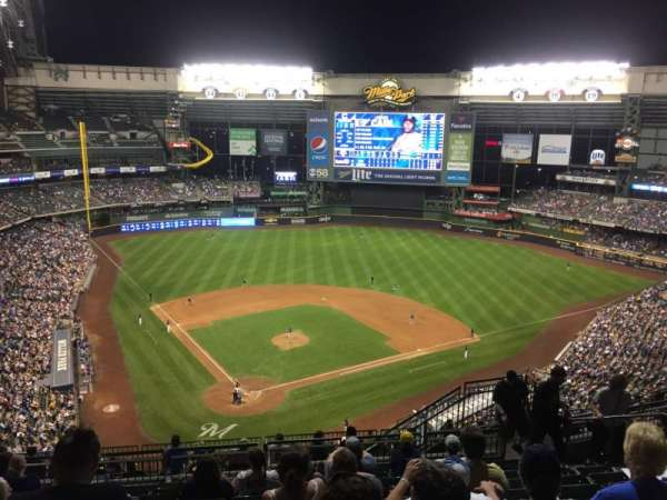 Miller Park, section: 420, row: 17, seat: 15