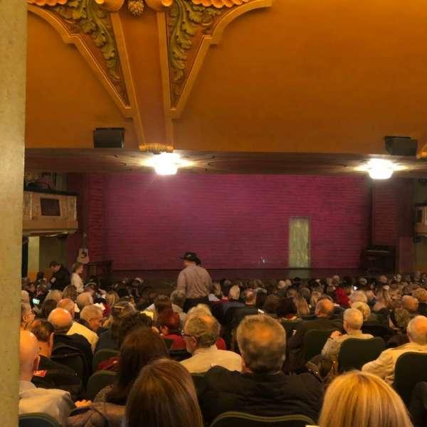 Shubert Theatre, section: SRO, seat: 3
