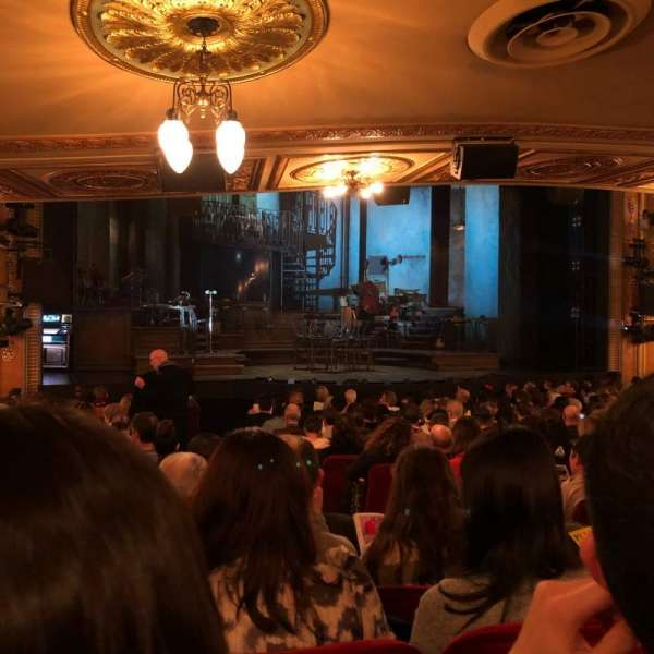 Walter Kerr Theatre, section: Orchestra, row: SRO, seat: 11