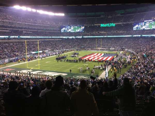 MetLife Stadium, section: 123, row: 45, seat: 21