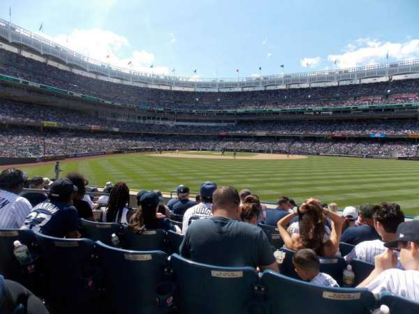 Yankee Stadium, section: 103, row: 9, seat: 19