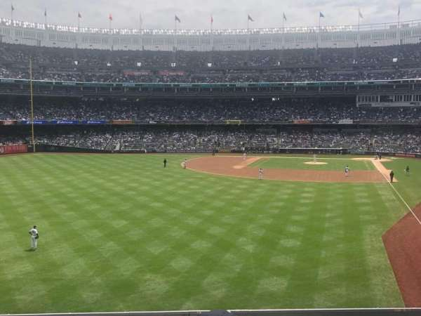 Yankee Stadium, section: 233b, row: 3, seat: 9