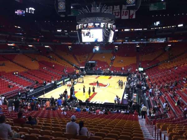 American Airlines Arena, section: 112, row: 27, seat: 01