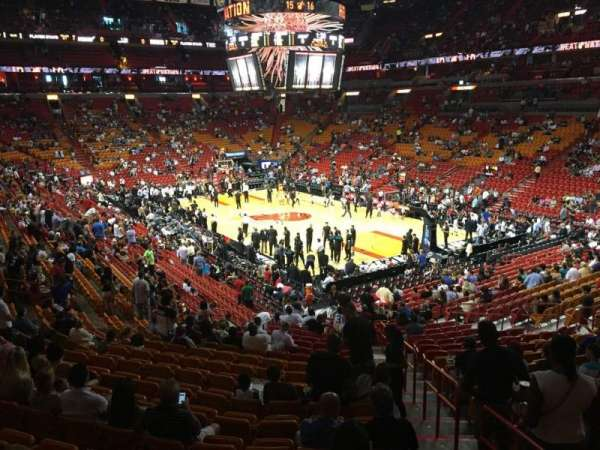 American Airlines Arena, section: 103, row: 30, seat: 01