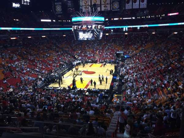 American Airlines Arena, section: 124, row: 37, seat: 01