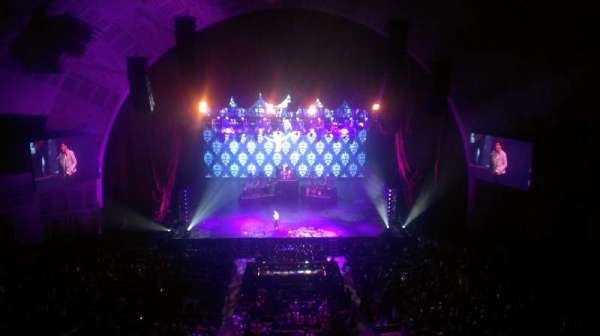 Radio City Music Hall, section: 3rd mezzanine 4, row: A, seat: 411