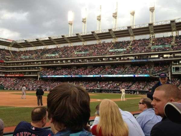 Progressive Field, section: 167, row: D, seat: 6