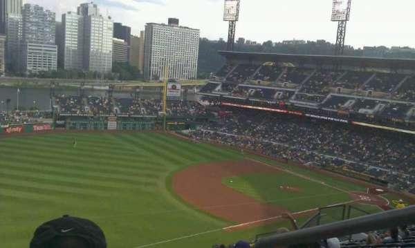 PNC Park, section: 330, row: R, seat: 1