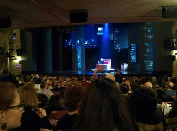 Music Box Theatre, section: Standing Room, seat: 6