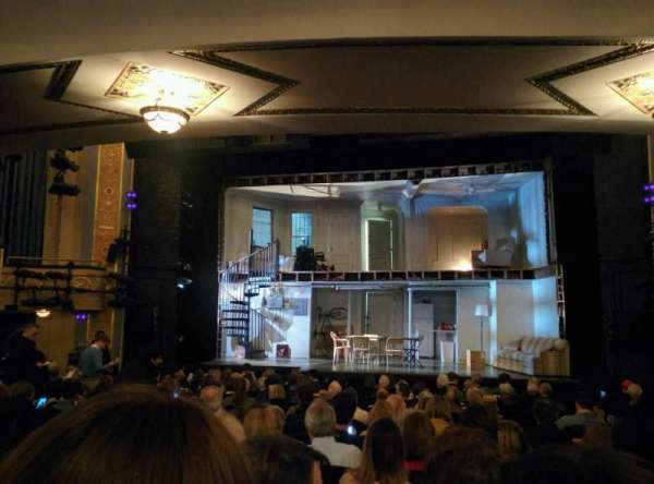 Gerald Schoenfeld Theatre, section: Orchestra C, row: Q, seat: 112