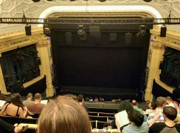 Hudson Theatre, section: Balcony, row: G, seat: 112