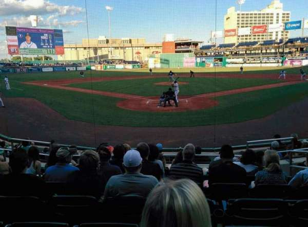 Dunkin' Donuts Park, section: 111, row: H, seat: 5