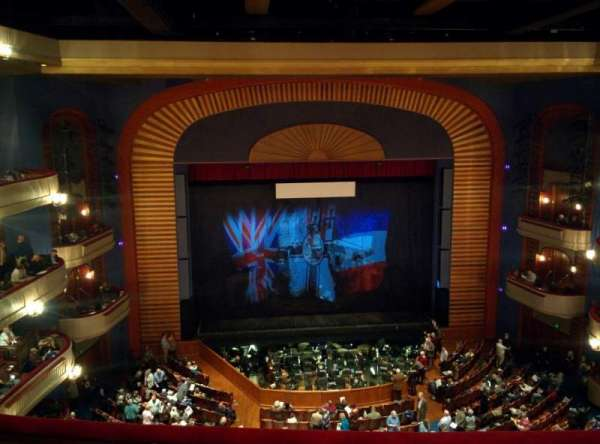Ordway Center for the Performing Arts - Music Theater, section: Gallery, row: D, seat: 207