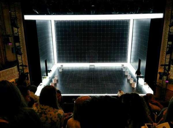 Ethel Barrymore Theatre, section: Front Mezzanine, row: E, seat: 8