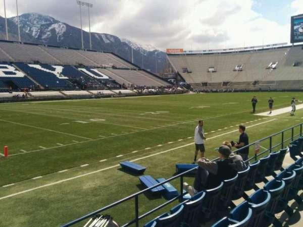 LaVell Edwards Stadium, section: 9, row: 4, seat: 14