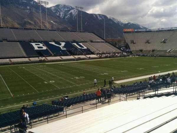 LaVell Edwards Stadium, section: 9, row: 25, seat: 1