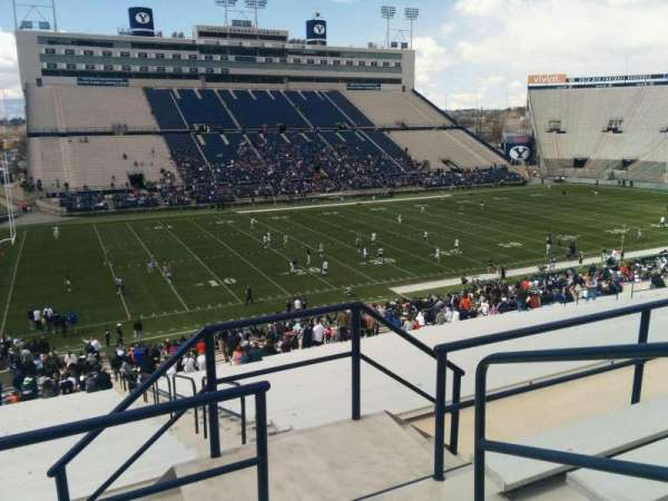 LaVell Edwards Stadium, section: 137, row: 5, seat: 3