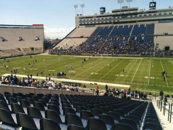 LaVell Edwards Stadium, section: 33, row: 40, seat: 1