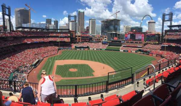 Busch Stadium, section: 345, row: 3, seat: 1