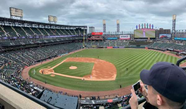 Guaranteed Rate Field, section: 524, row: WC, seat: 1