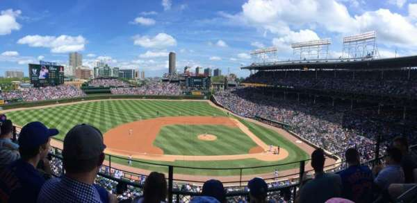Wrigley Field, section: 311L, row: 3, seat: 11