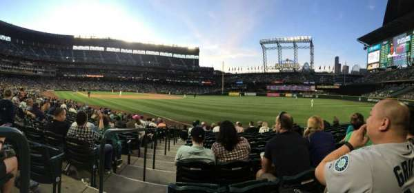 T-Mobile Park, section: 112, row: 14, seat: 16