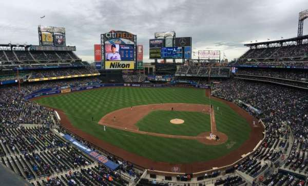 Citi Field, section: 419, row: 1, seat: 10