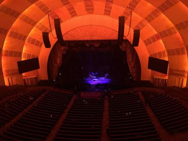 Radio City Music Hall, section: 3RD Mezzanine 3, row: B, seat: 313