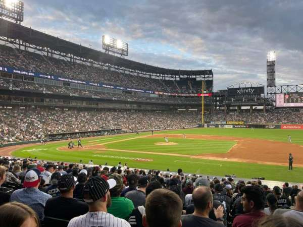 Guaranteed Rate Field, section: 123, row: 25, seat: 3