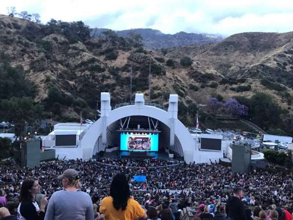 Hollywood Bowl, section: W2, row: 1, seat: 101