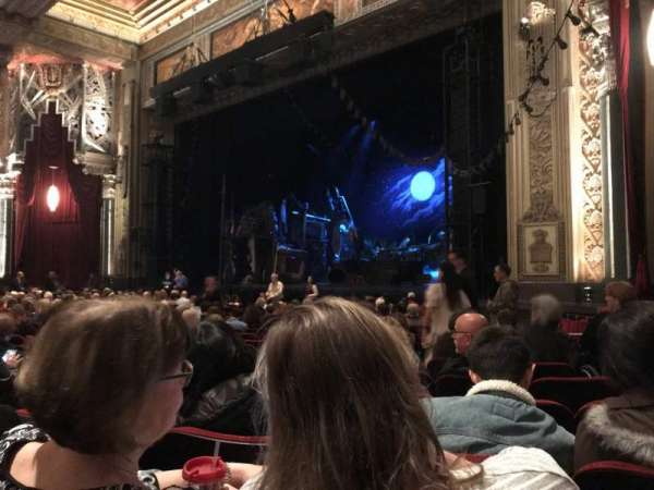 Hollywood Pantages Theatre, section: ORCHR, row: S, seat: 10