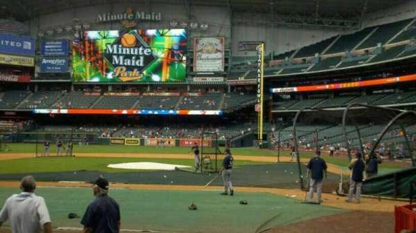 Minute Maid Park, section: 116, row: 12, seat: 15