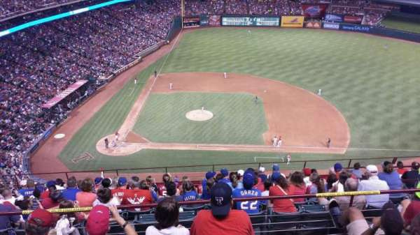 Globe Life Park in Arlington, section: 332, row: 14, seat: 15