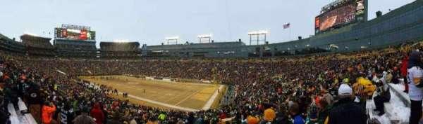 Lambeau Field, section: 109, row: 44, seat: 16