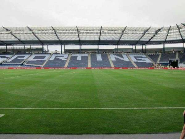 Children's Mercy Park, section: F5, row: 03, seat: 05
