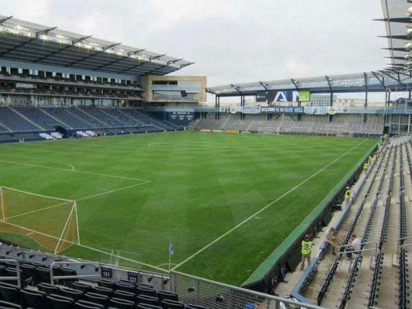 Children's Mercy Park, section: 122, row: 14, seat: 10