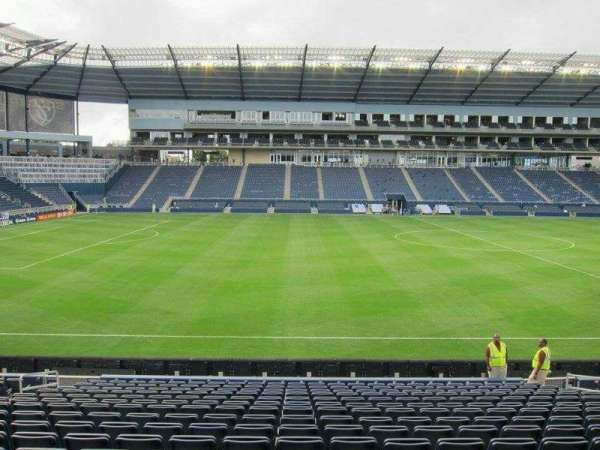 Children's Mercy Park, section: 128, row: 16, seat: 11