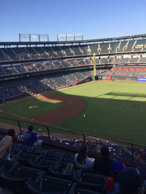 Globe Life Park in Arlington, section: 339, row: 6, seat: 11