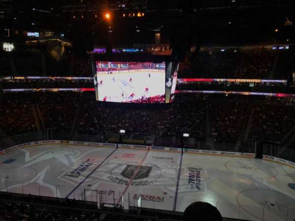 T-Mobile Arena, section: 223, row: J, seat: 14