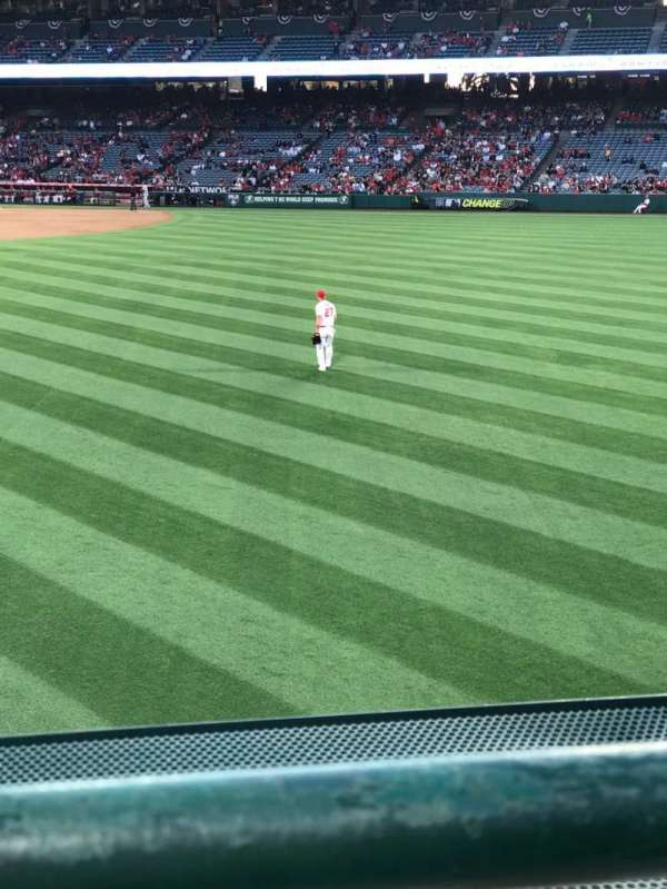 Angel Stadium, section: P239, row: A, seat: 19