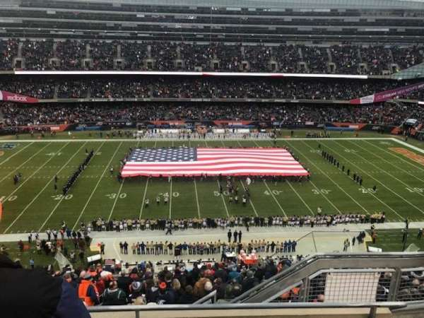 Soldier Field, section: 438, row: 3, seat: 10