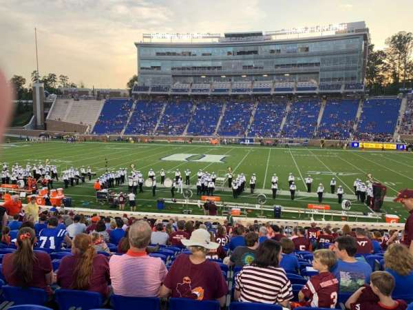 Wallace Wade Stadium, section: 8, row: O, seat: 9